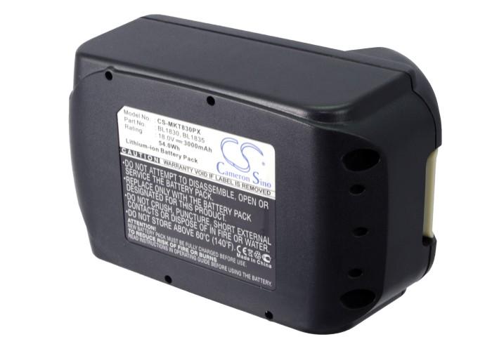 Bl1840 Bl1850 Battery For Makita Bdf456z Bdf458 Bfr550