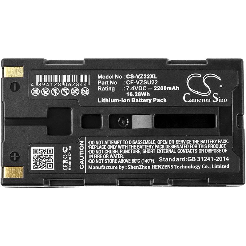 Amplificateur-Batterie-CS-VZ22XL-2200mAh-16-28Wh-pour-Toa-Electronique miniature 3